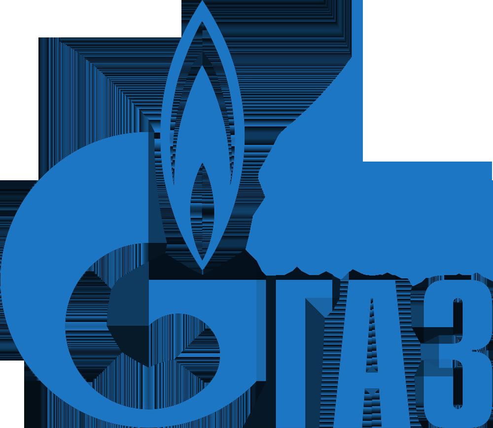 Логотип Газпрома и seo-агентства Питчер